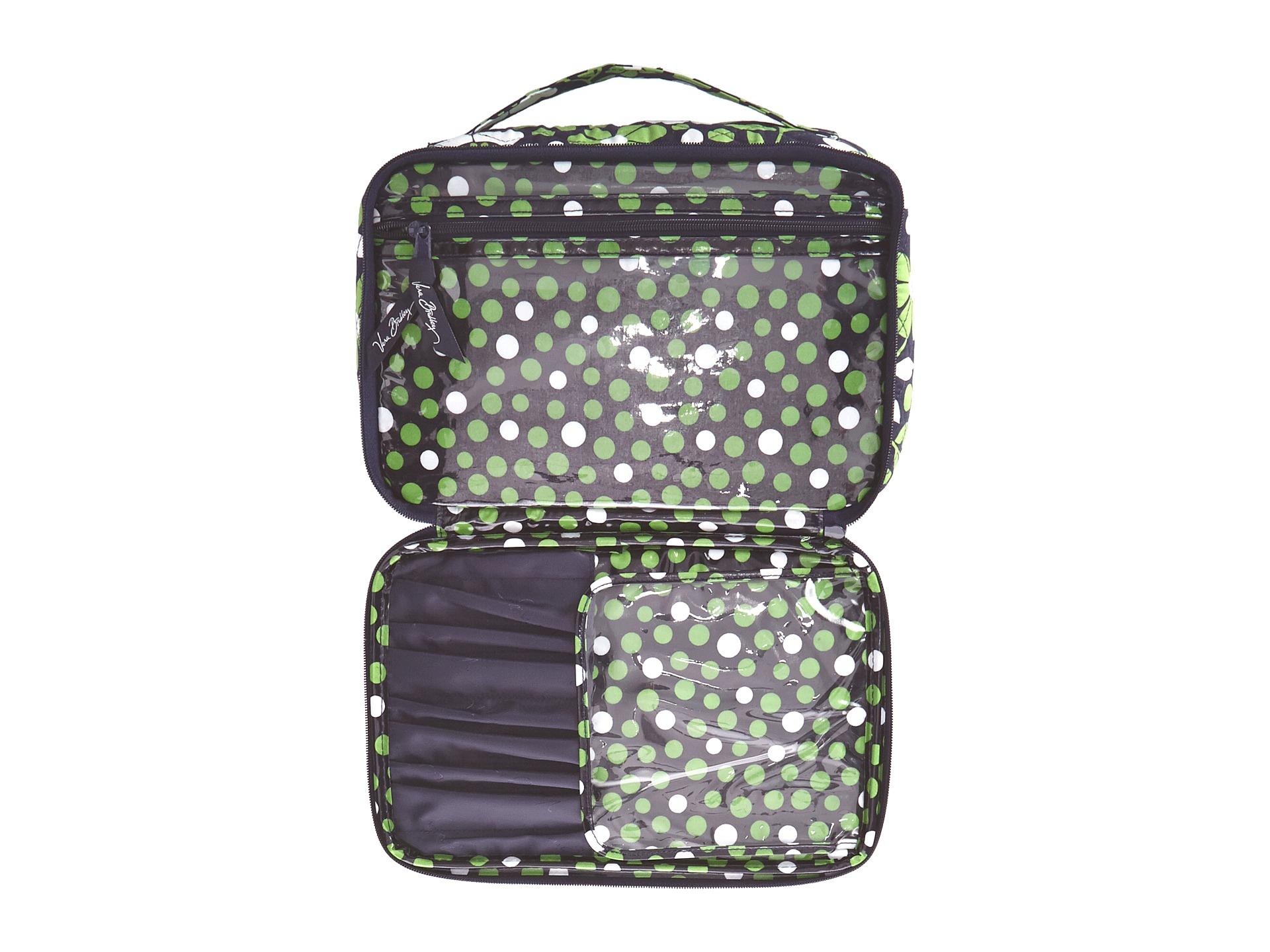 9983e37ef6 Lyst - Vera Bradley Large Blush   Brush Makeup Case in Green