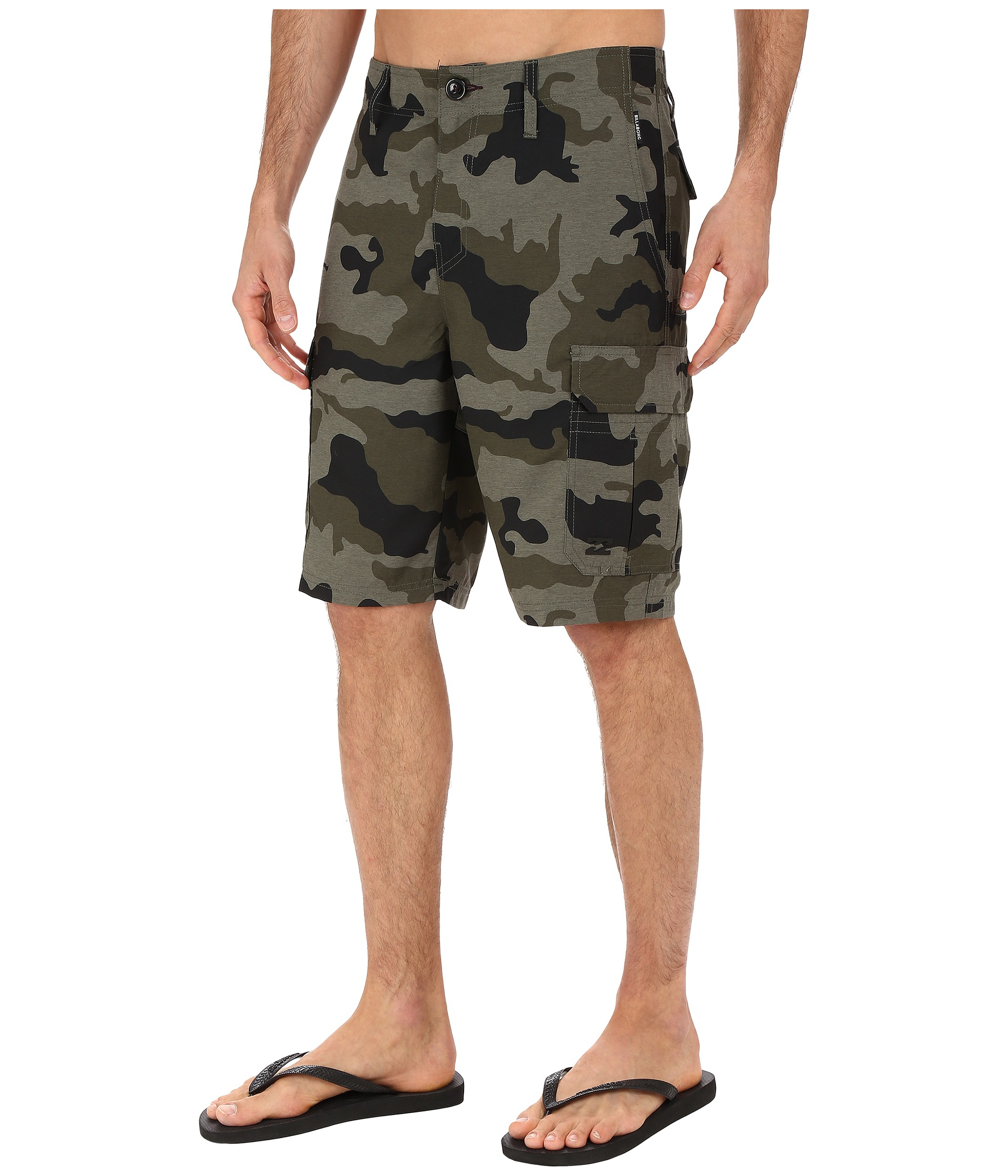 271045ec90 Billabong Scheme Cargo Submersible Shorts in Green for Men - Lyst