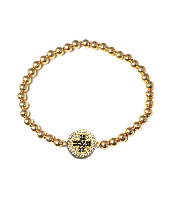Lyst Mali beads Berkley 14kt Gold Filled Beaded Bracelet 925