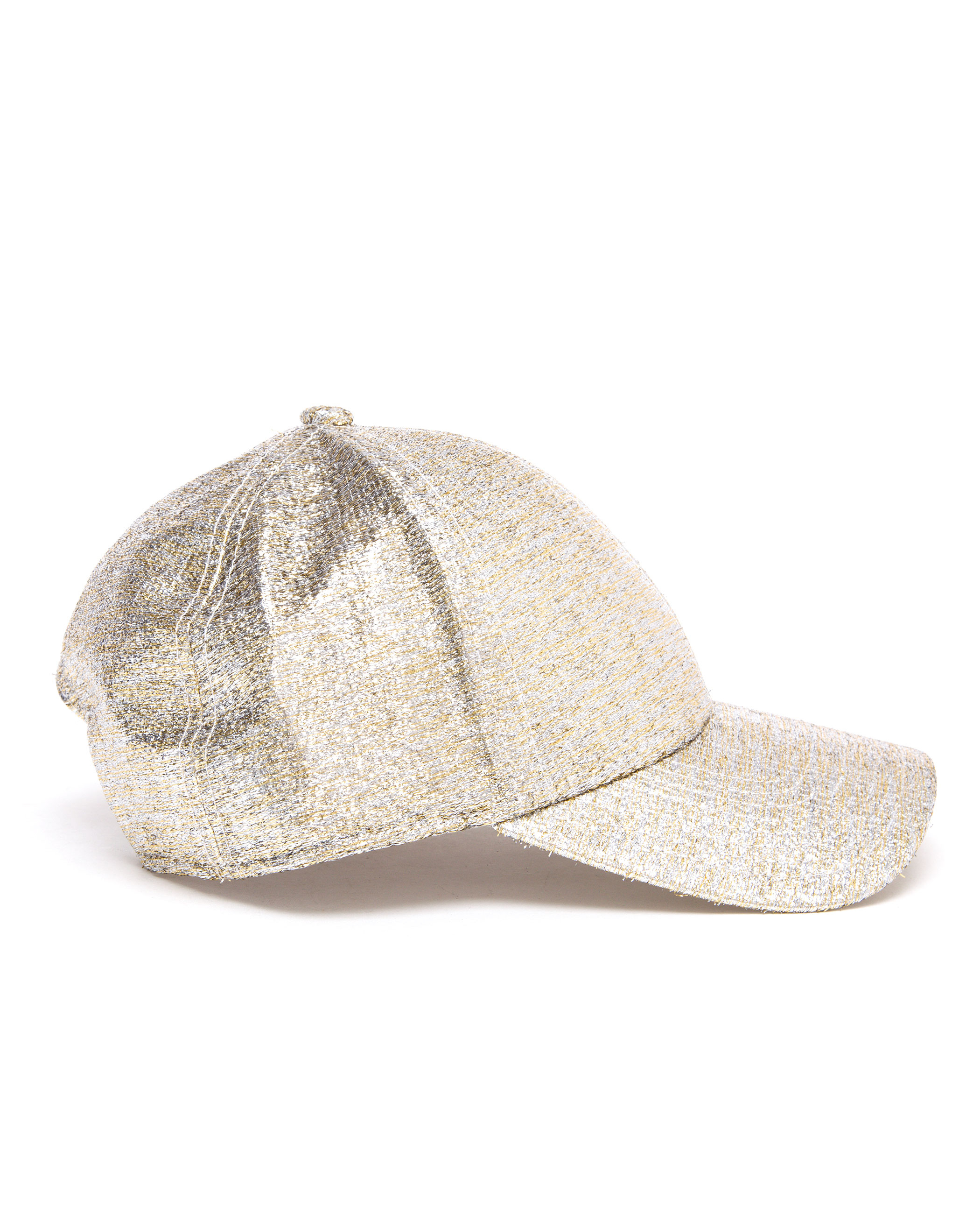 cc06d9640aa Acne Studios Camp Glitter Baseball Cap in Metallic - Lyst
