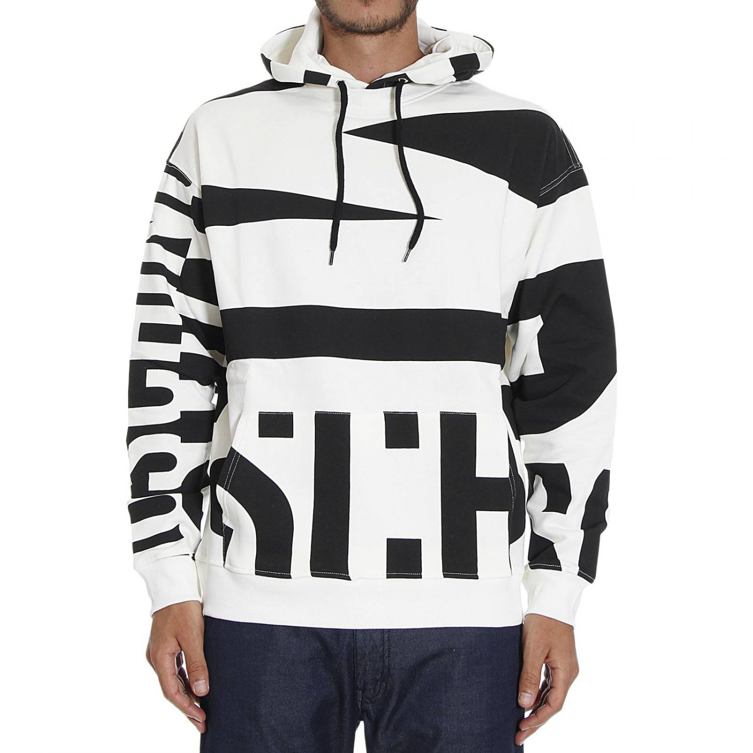 Moschino Sweater in White for Men | Lyst