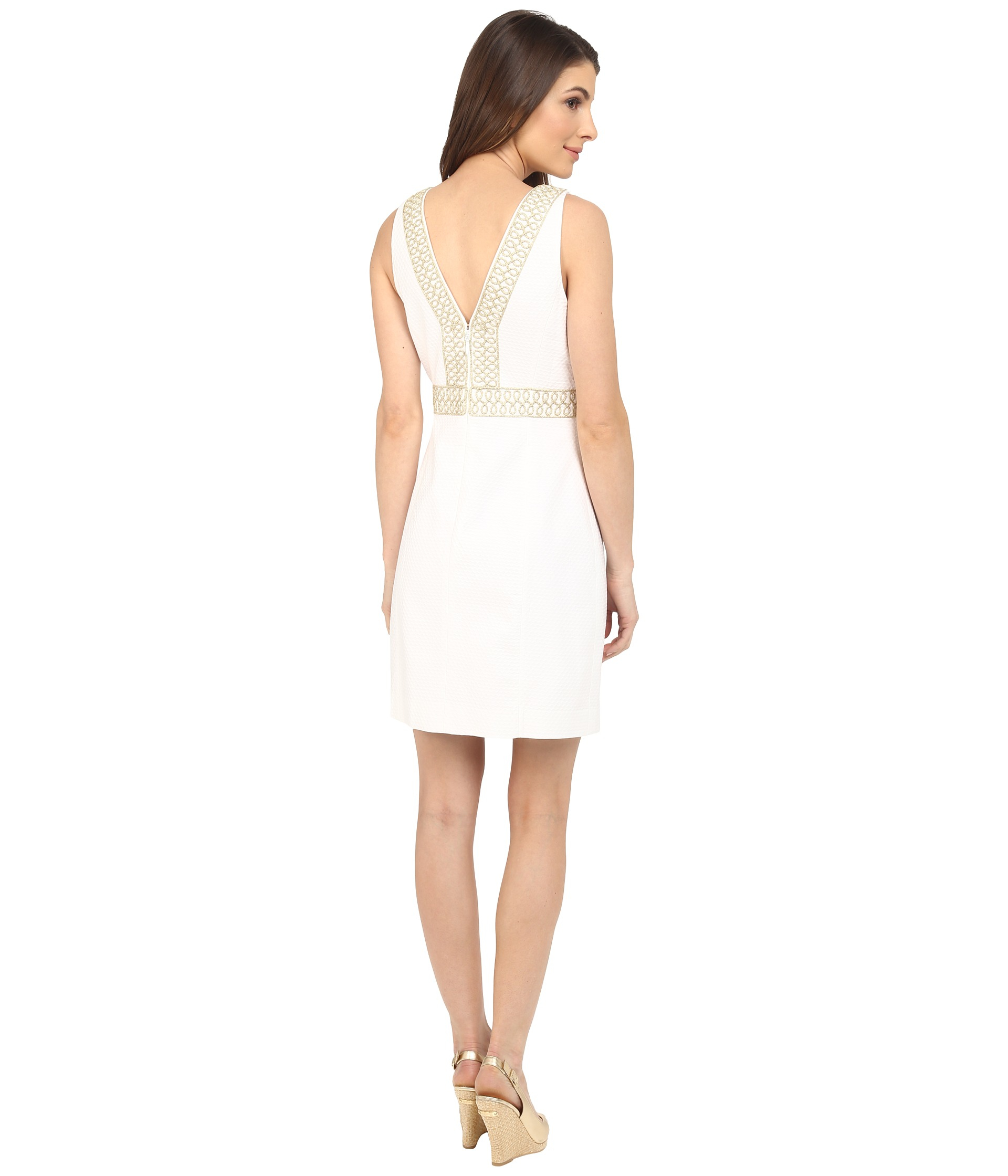 Lyst Lilly Pulitzer Aveline Shift Dress In White