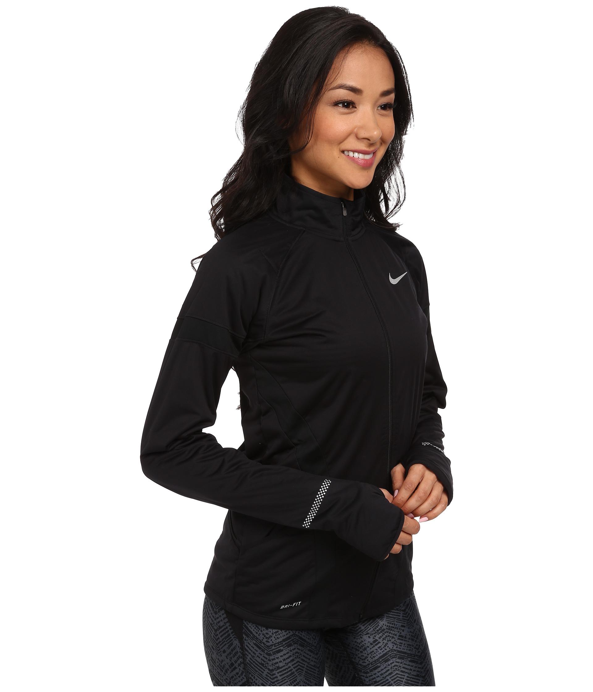 21ea89af0ca8 Lyst - Nike Element Shield Full-Zip Jacket in Black