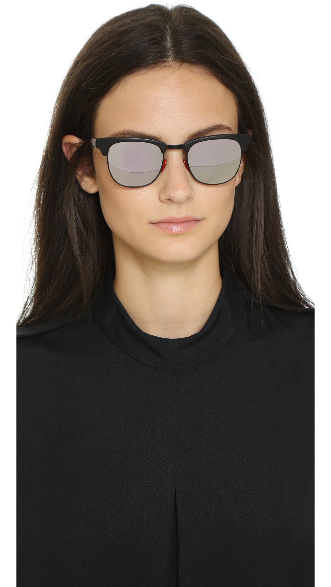 daa9394a95a Lyst - Westward Leaning Vanguard 3 Sunglasses - Matte Black Super ...