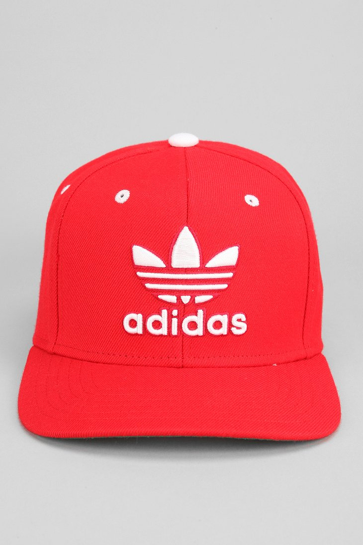 1901b91ffd848 ... italy lyst adidas originals thrasher classic snapback hat in red for men  f5145 cc4e9