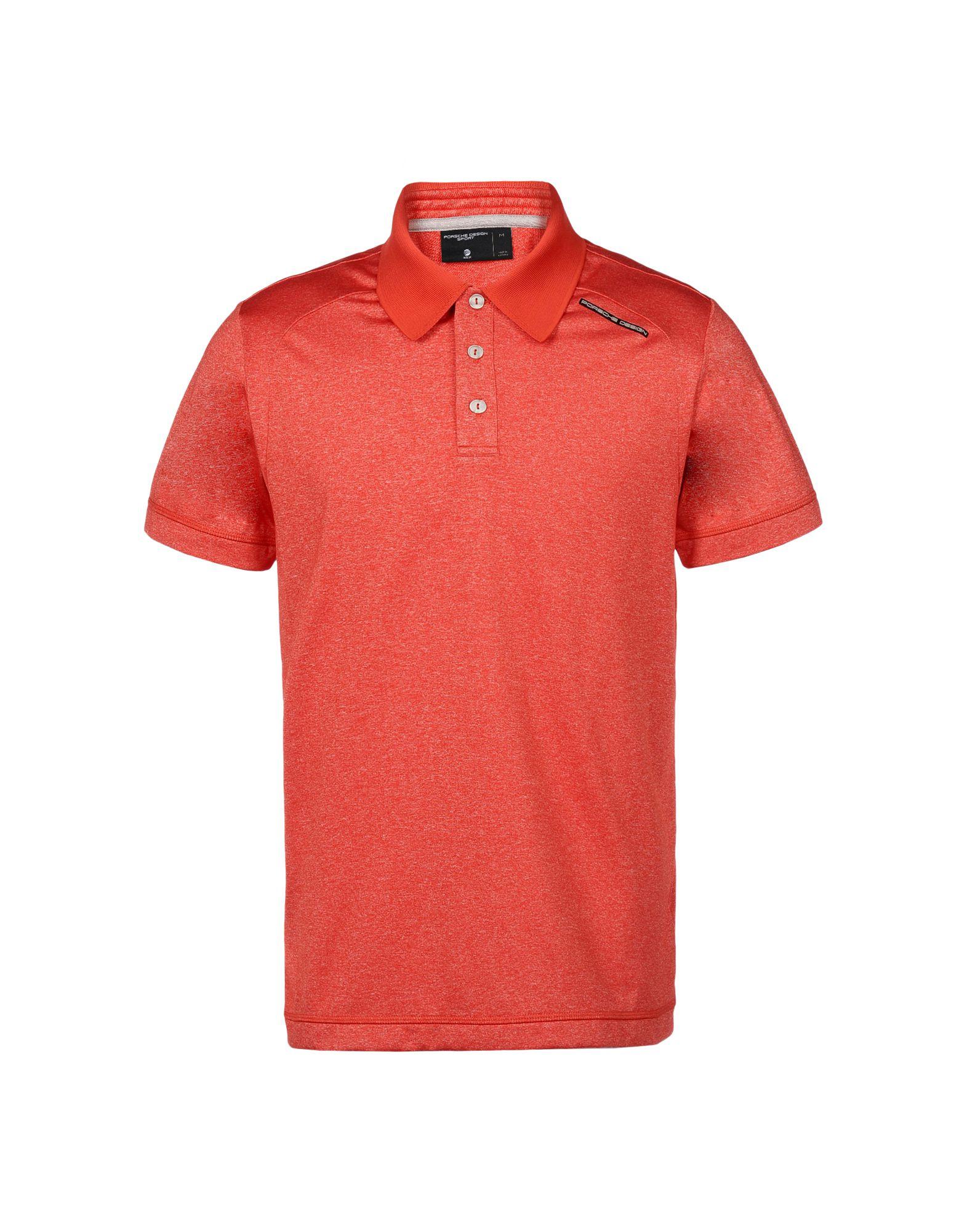 lyst porsche design polo shirt in red for men. Black Bedroom Furniture Sets. Home Design Ideas