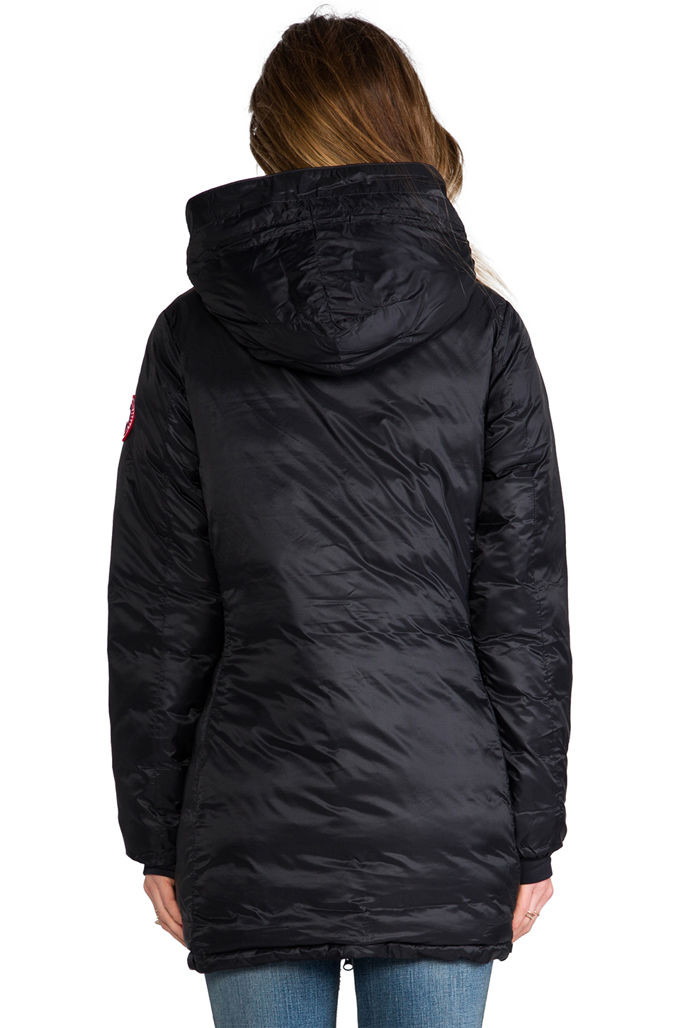 canada goose lightweight camp hooded jacket