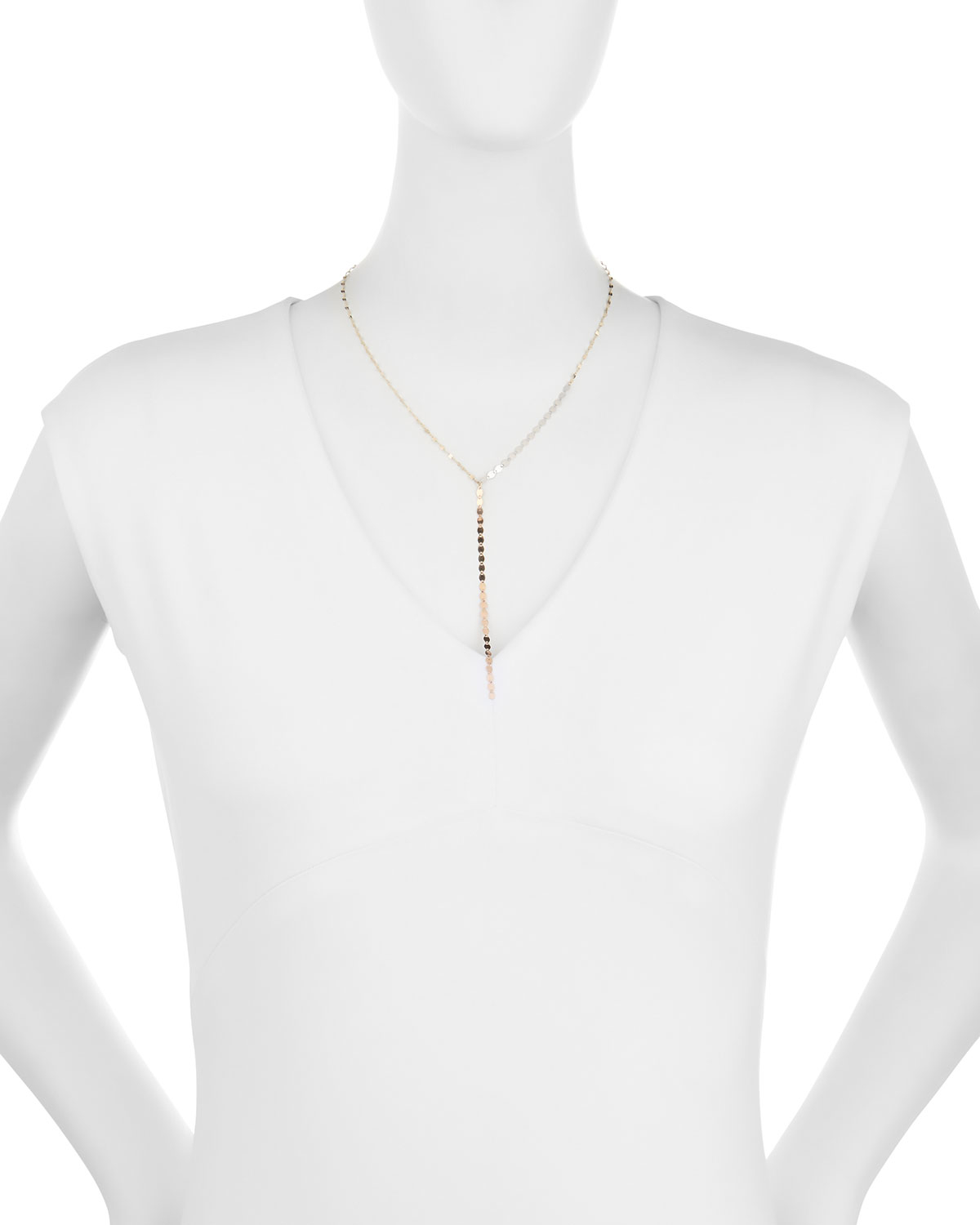 Lana Jewelry 14k Nude Lariat Necklace n7EH9