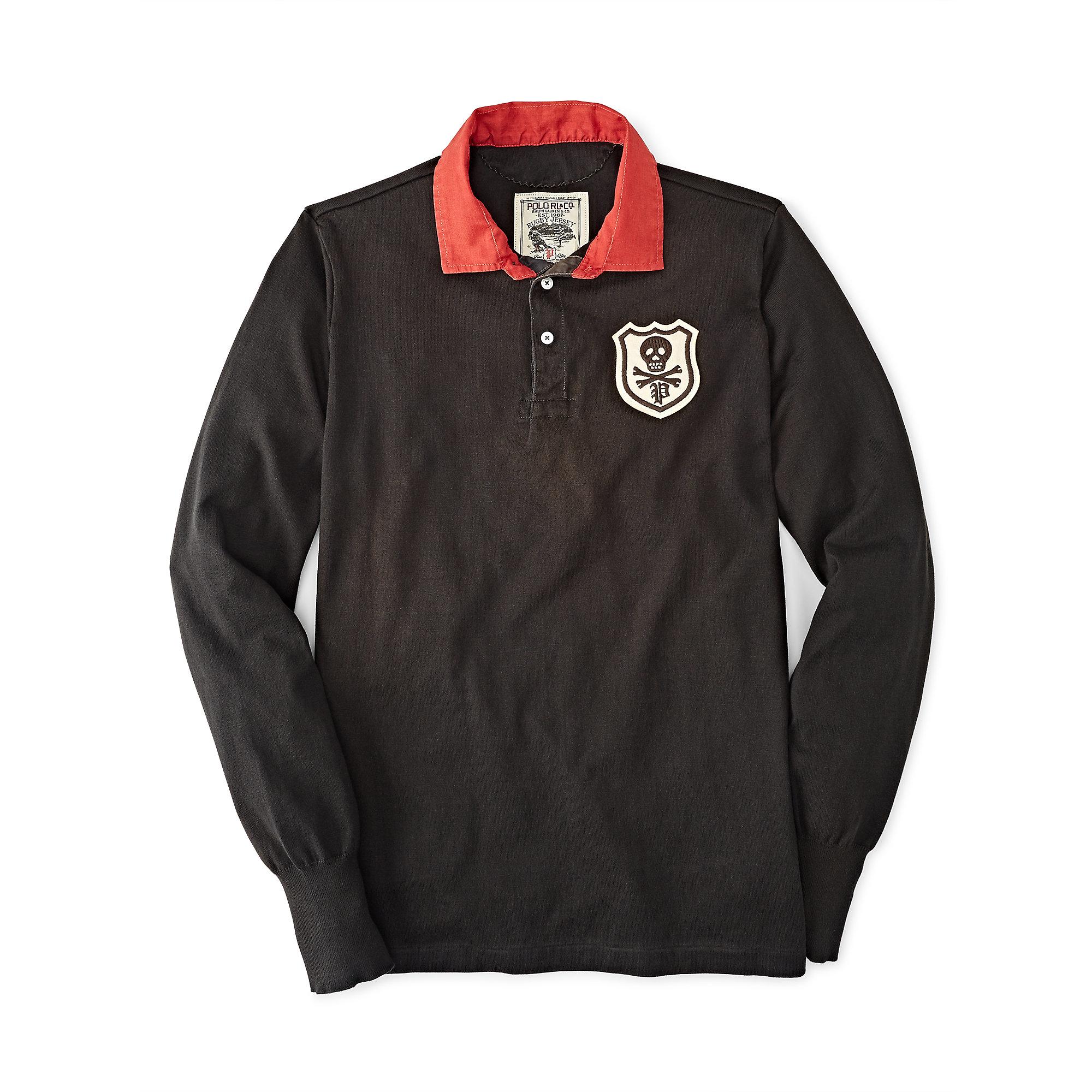 Polo Ralph Lauren Mens Long Sleeve Rugby Shirt Womens Red