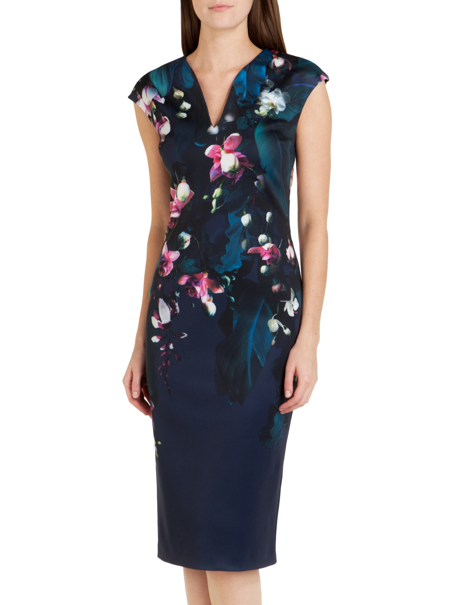 TED BAKER WOMEN S CLOTHING, DRESSES, TOPS, PANTS, SHORTS, AND SWIMWEAR. Step into the spotlight every time you wear Ted Baker dresses thanks to their signature floral patterns and statement silhouettes.