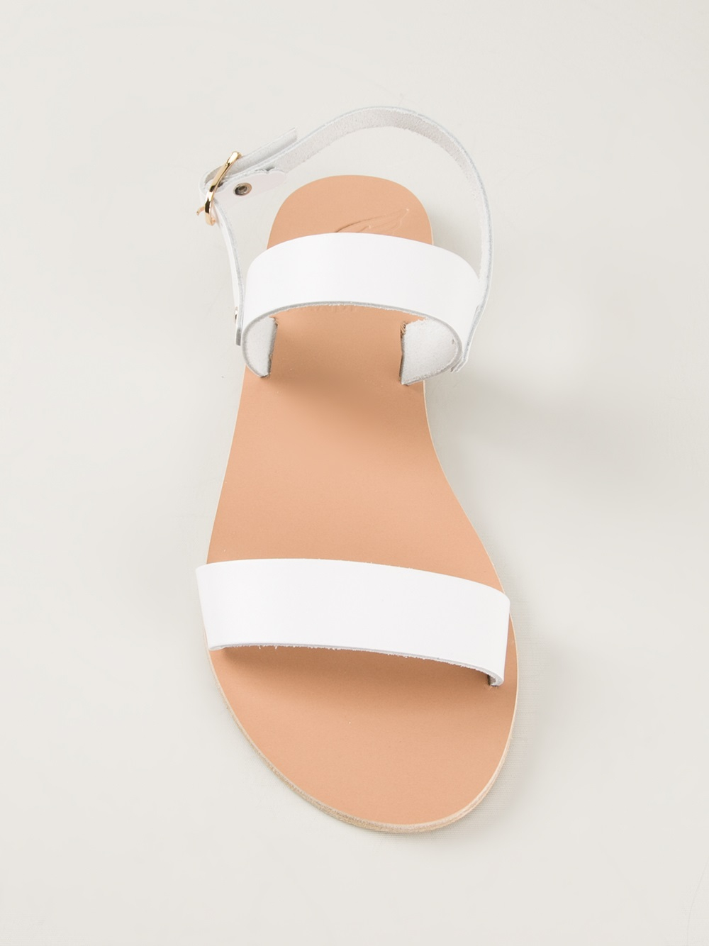 Lyst - Ancient Greek Sandals Clio Flat Sandal in White