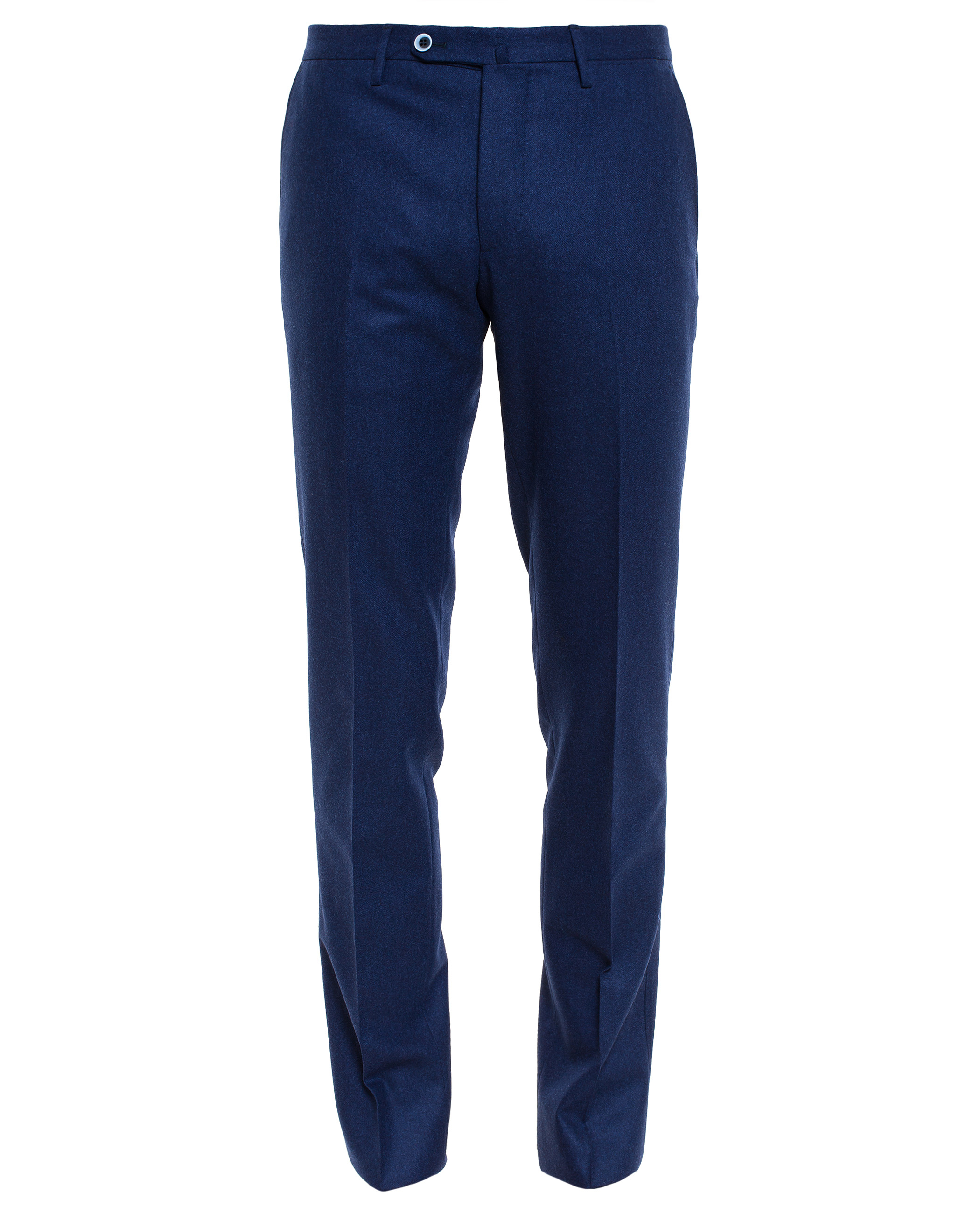 Browns Flannel Wool Trousers In Blue For Men Lyst