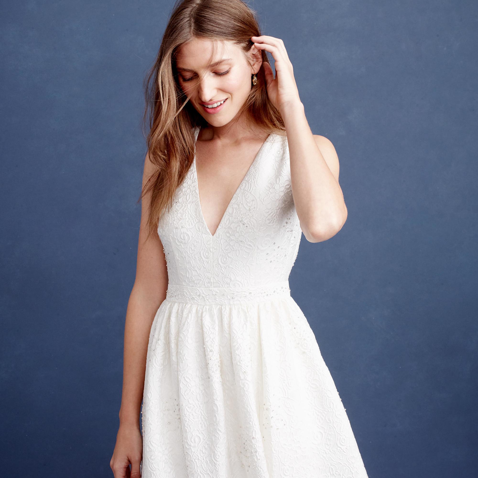 c2e53523f57 Lyst - J.Crew Emilia Gown in White