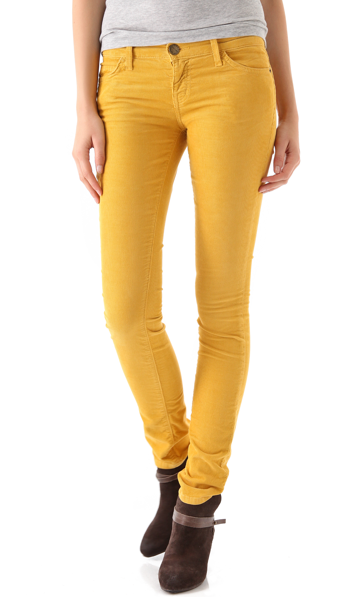 Popular Pantalon En Velours Ctel Jaune Moutarde Px Boutique 170 Taille