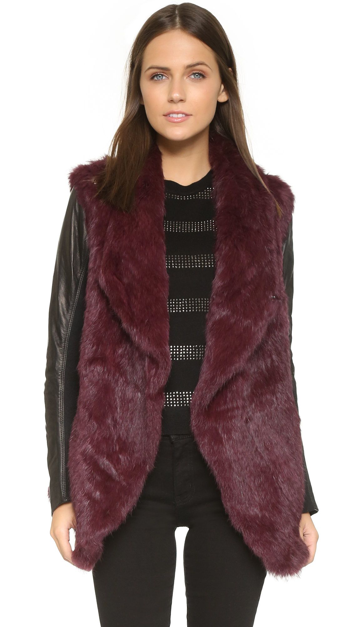 Super chic shaggy faux fur coat with long sleeve&open front. Hibluco Women's Winter Long Sleeve Pullover Coat Faux Fur Sweater Shirt. by Hibluco. $ $ 23 99 $ Prime. FREE Shipping on eligible orders. Some sizes/colors are Prime eligible. See Details. Promotion Available See Details.