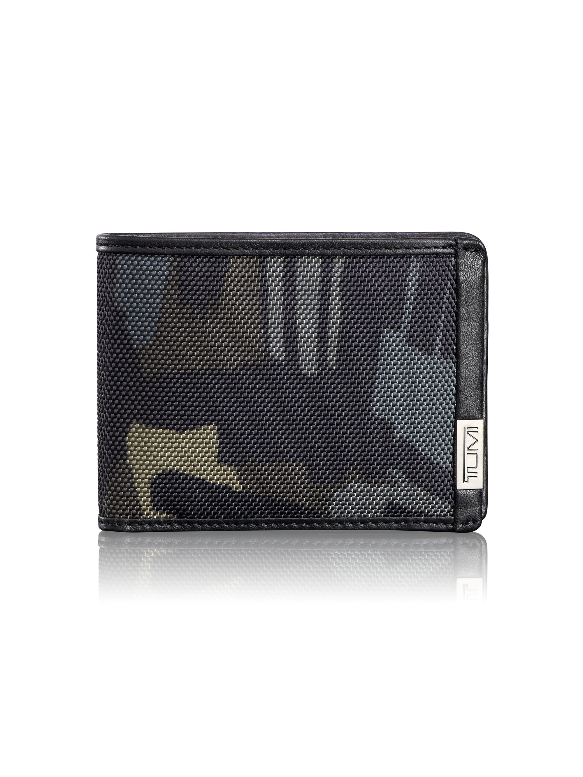 Lyst Tumi Alpha Double Billfold Wallet In Gray For Men