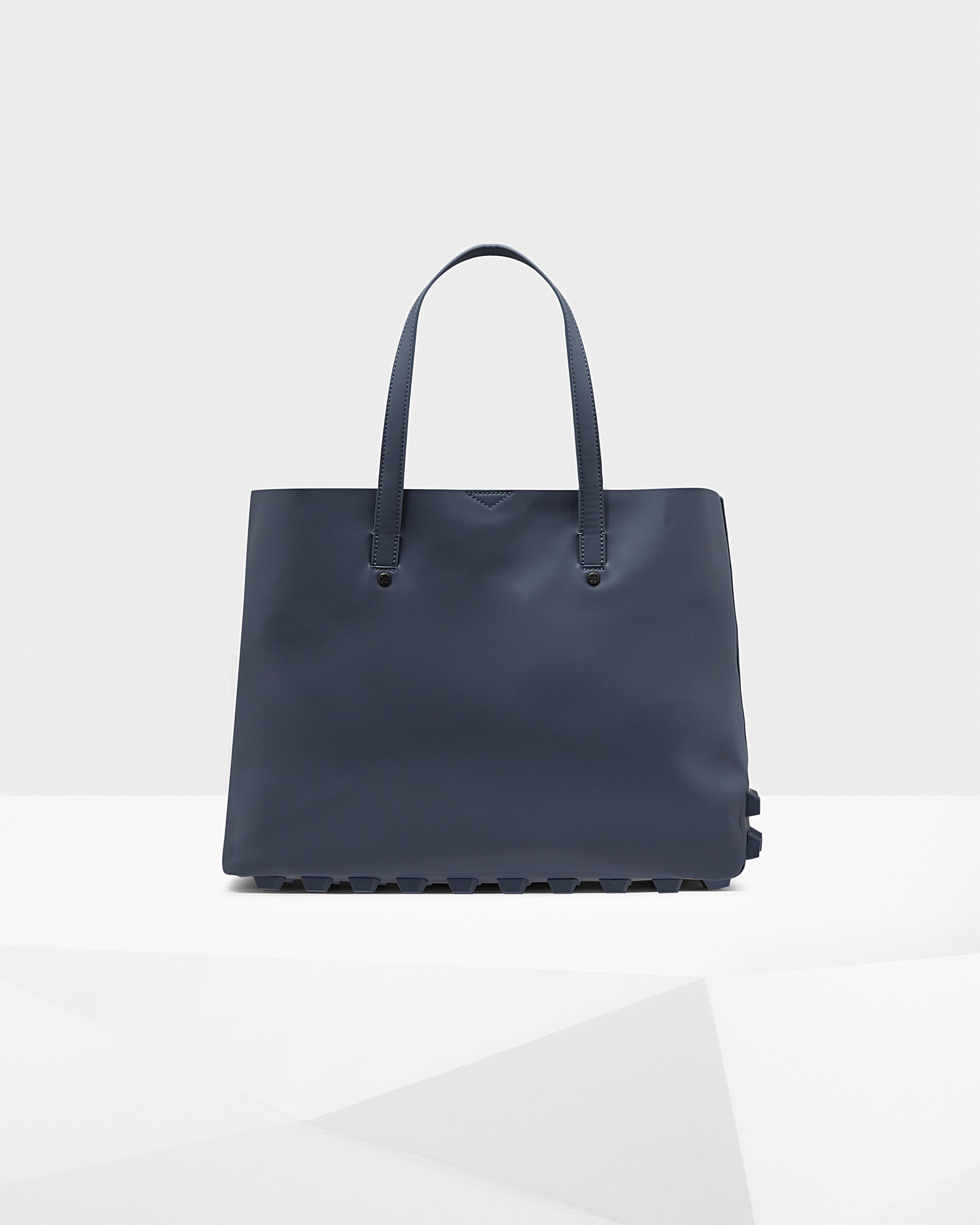 lyst hunter women 39 s original asymmetric tote bag in blue. Black Bedroom Furniture Sets. Home Design Ideas