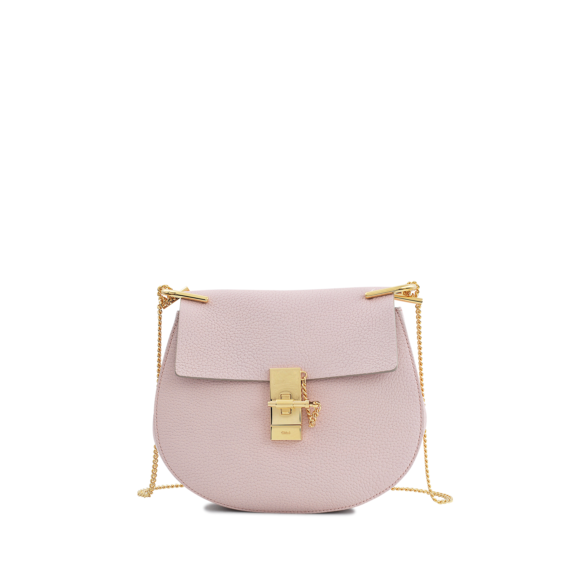 chlo drew small chain bag in pink lyst. Black Bedroom Furniture Sets. Home Design Ideas