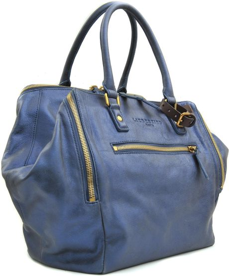 Liebeskind Kayla Metallic Bag in Blue