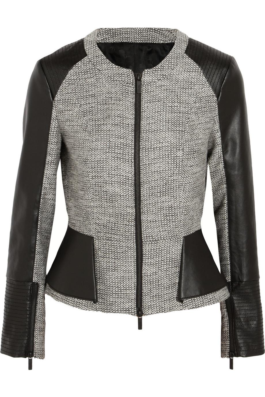 karl lagerfeld wool jacket