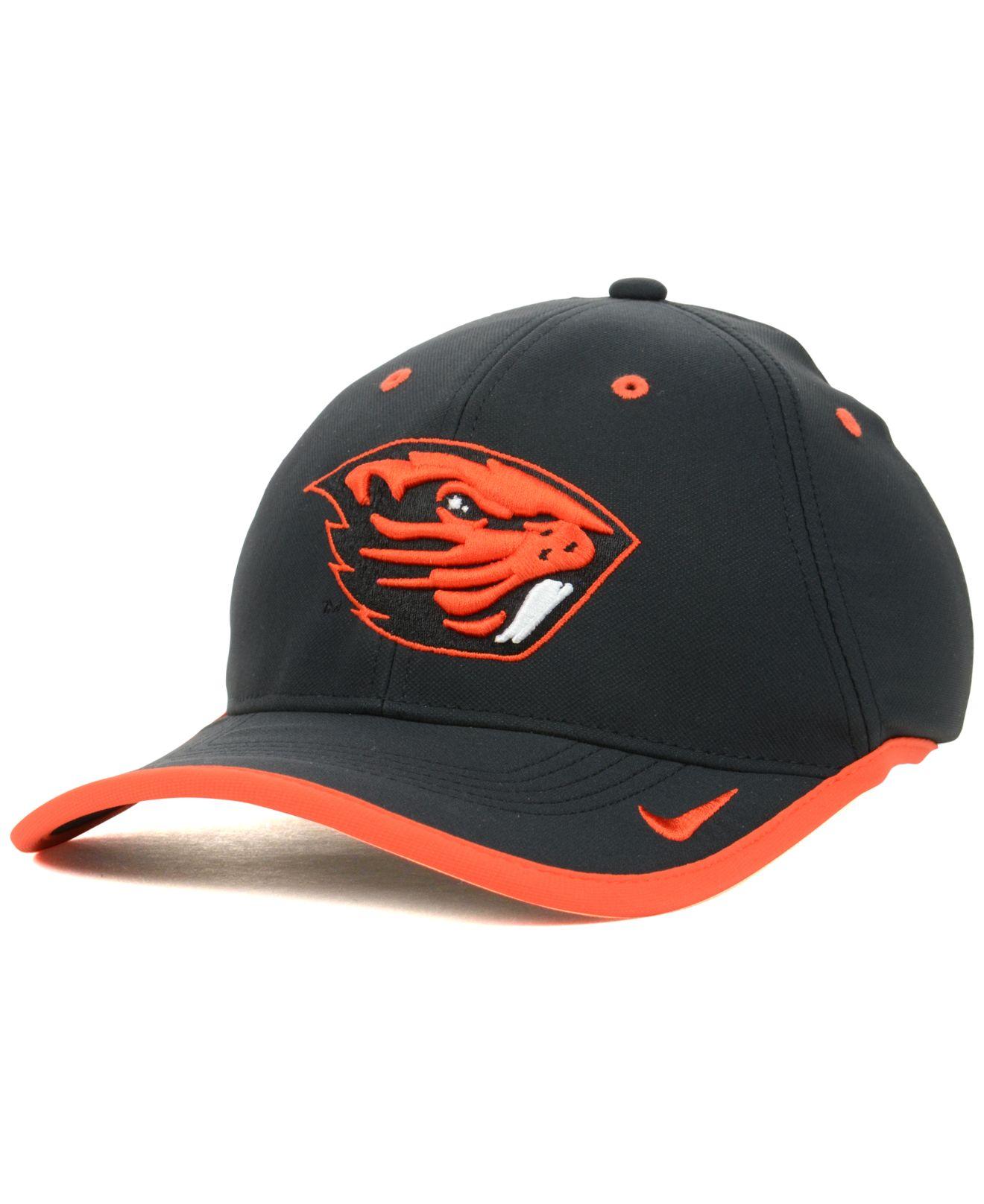 size 40 f26a1 4fe3a ... cheap lyst nike oregon state beavers coaches dri fit cap in black for  men 8b669 6a532