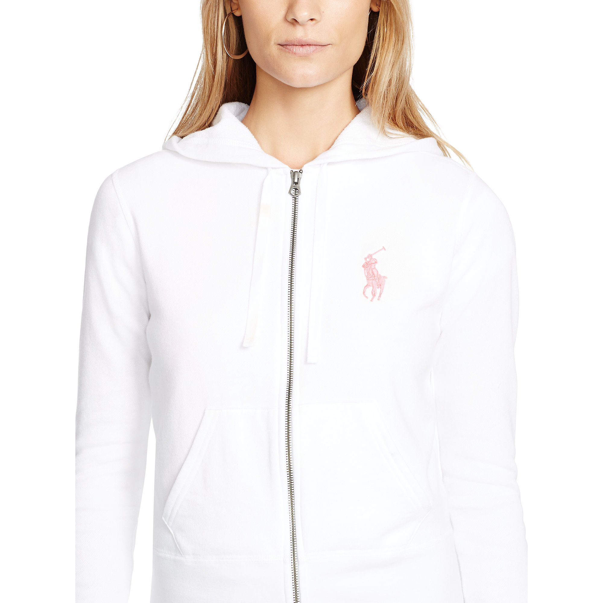 Lyst - Pink Pony Pink Pony Full-zip Hoodie in White