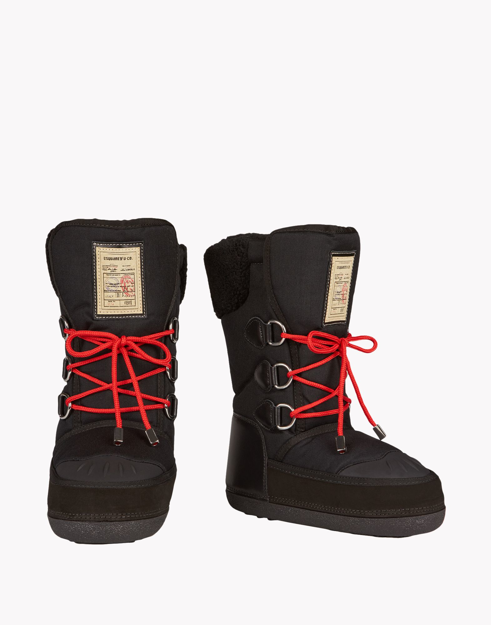Squared Sock Boot Shoes