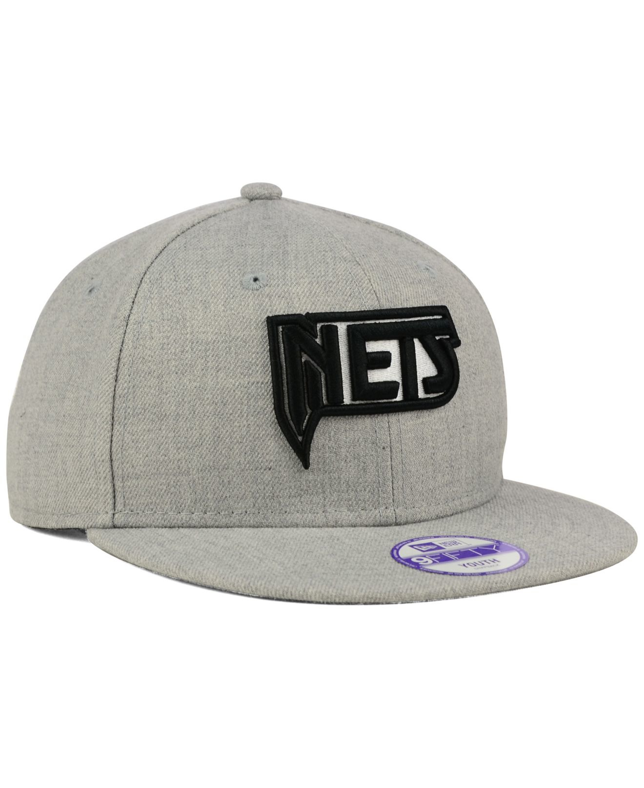 cde0720a90c Lyst - KTZ Kids  New Jersey Nets Heather Team Color 9fifty Snapback Cap in  Gray for Men