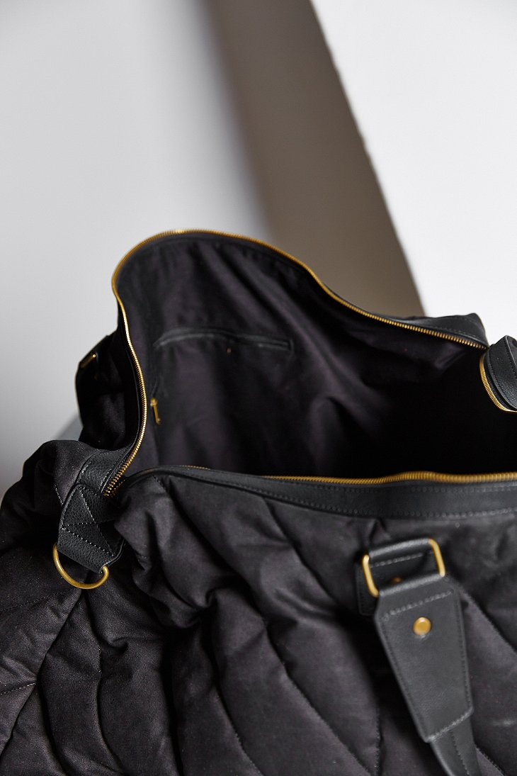 Lyst - Bdg Quilted Weekender Bag in Black : quilted weekender bag - Adamdwight.com