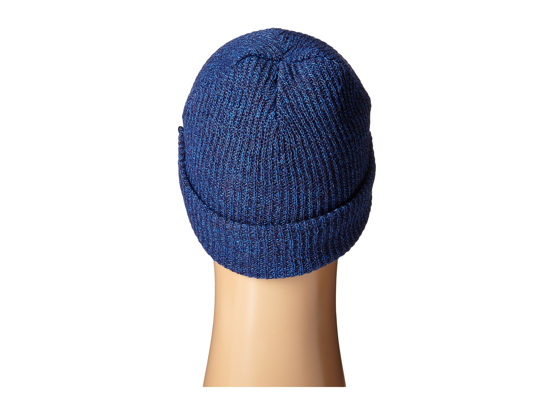 73ce7d2853f Lyst - Neff Fold Heather Beanie in Blue
