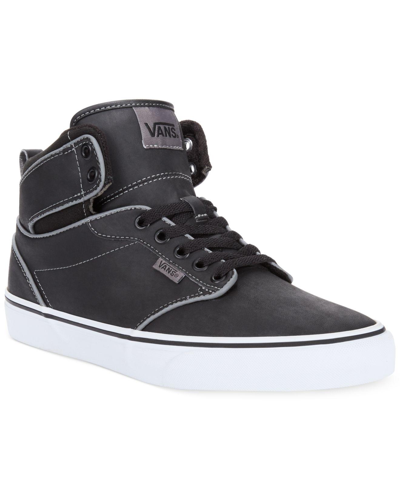 631827588558 Lyst - Vans Atwood Hi-Top Sneakers in Black for Men