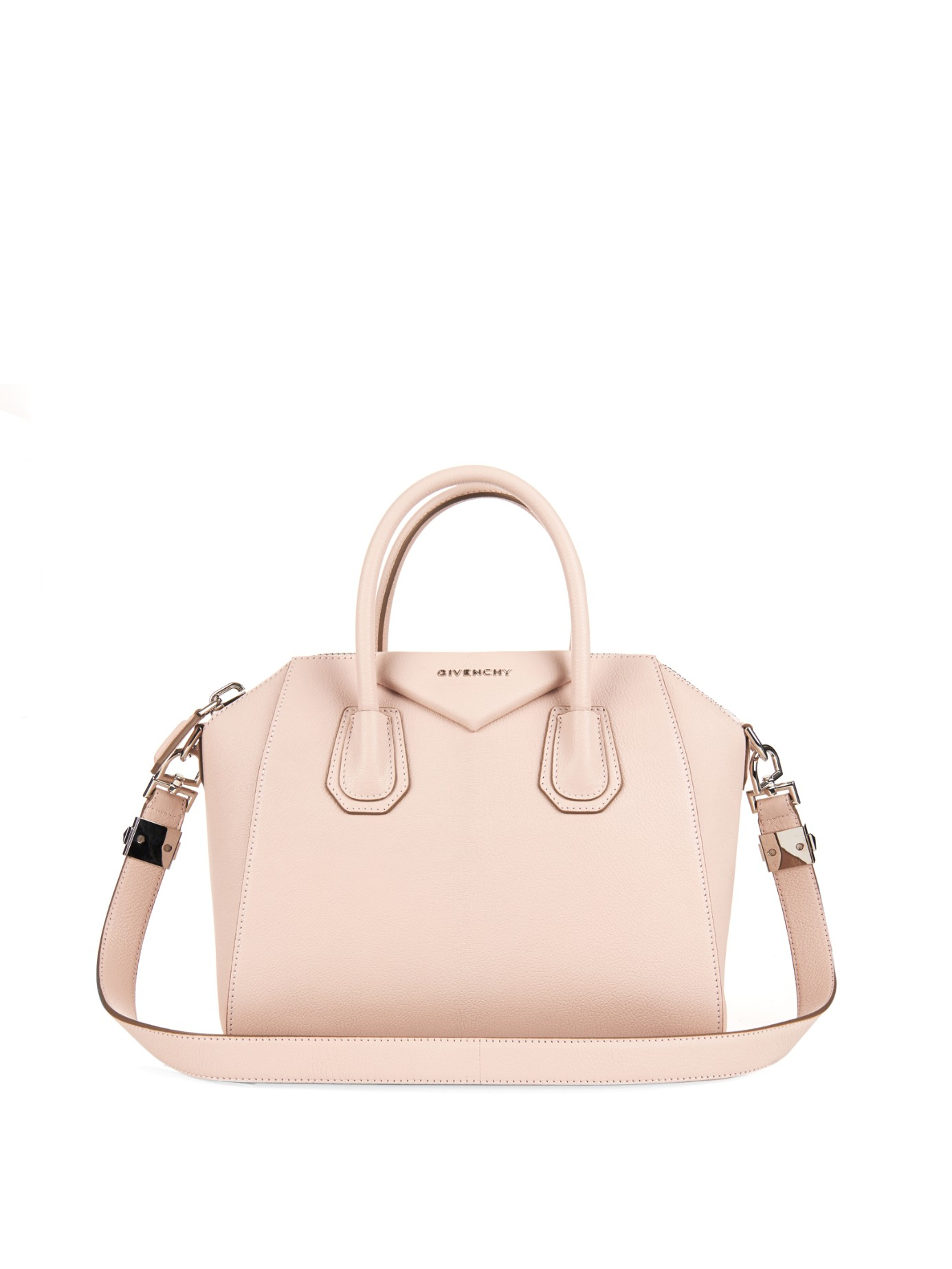 a13109b0b7d2d Givenchy Antigona Small Sugar-leather Tote in Pink - Lyst