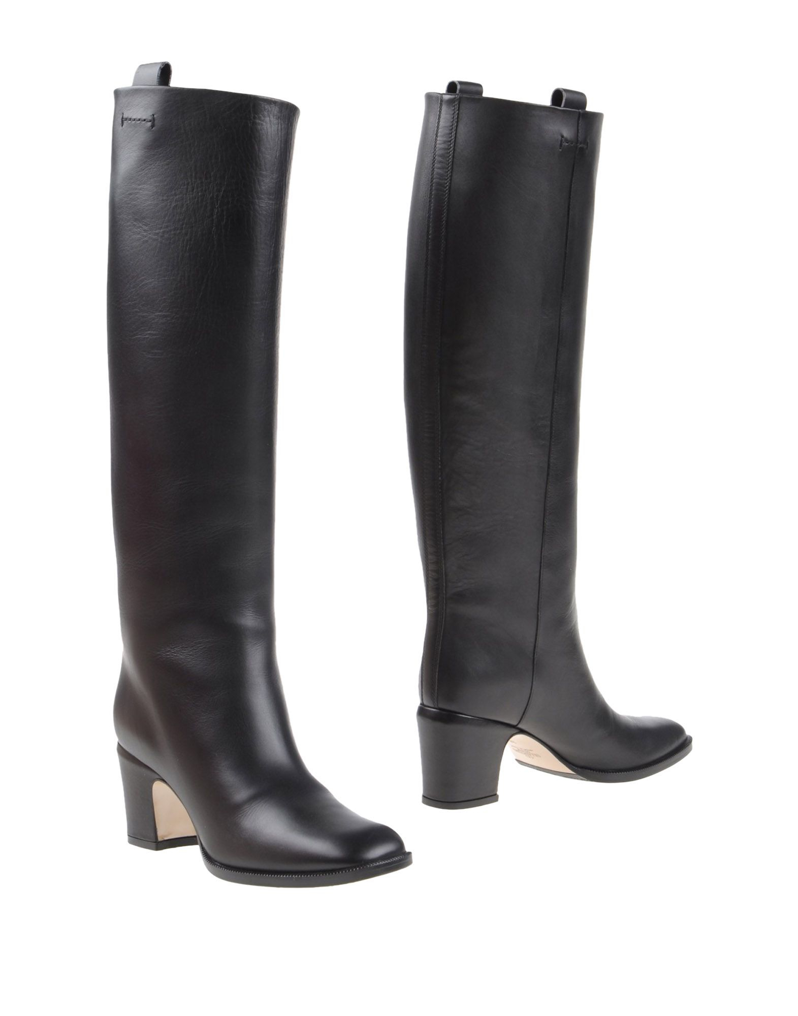 valentino boots in black lyst