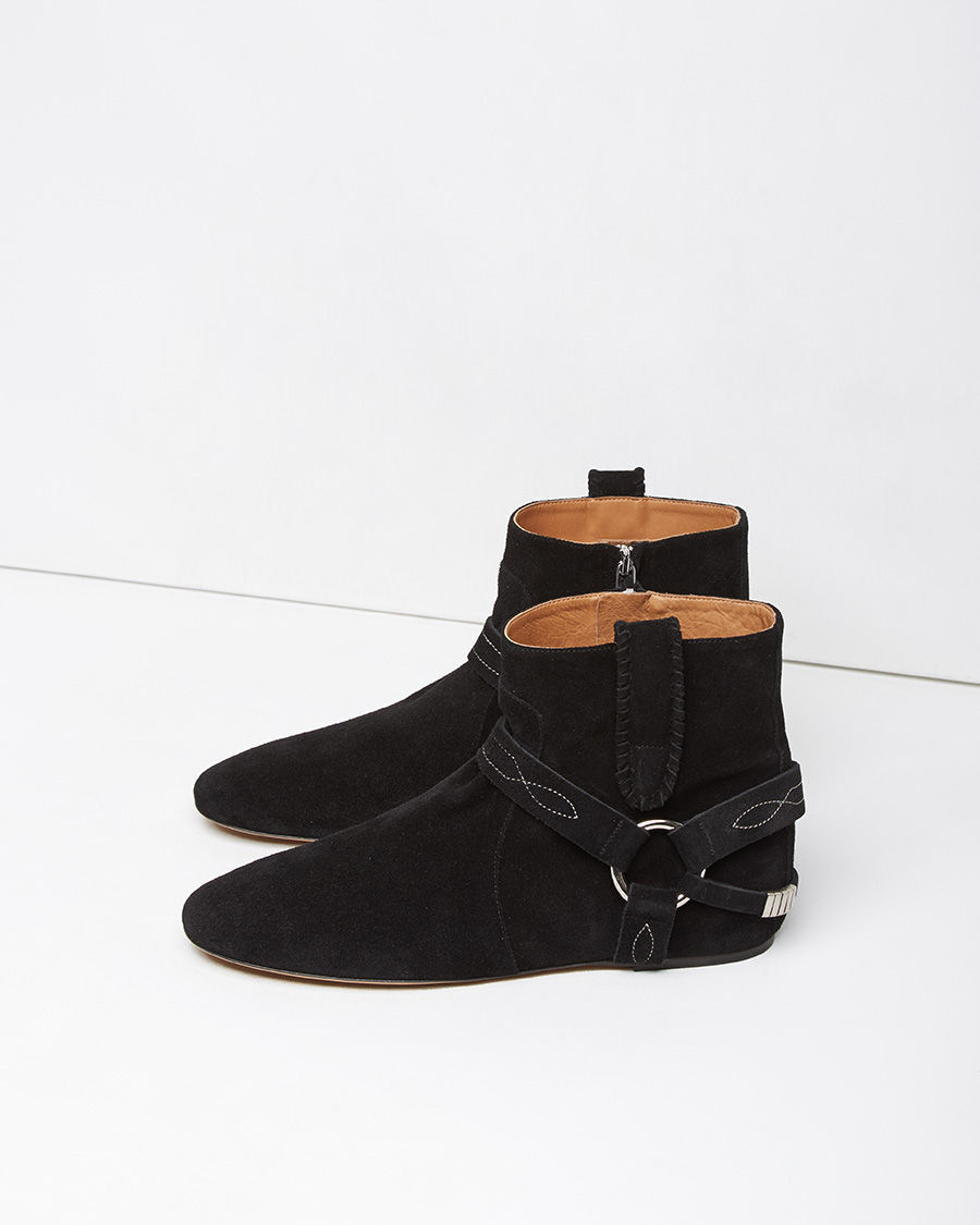 fashionable Isabel Marant Étoile Ralf Gaucho Suede Ankle Boots pay with paypal cheap online with paypal cheap price largest supplier for sale footlocker finishline xtMOLlgt