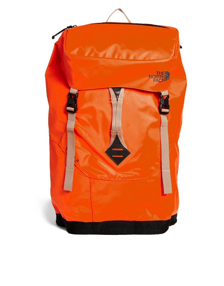 Base The In Camp Face Men North Citer Orange Lyst Backpack For Aw0tqdaax