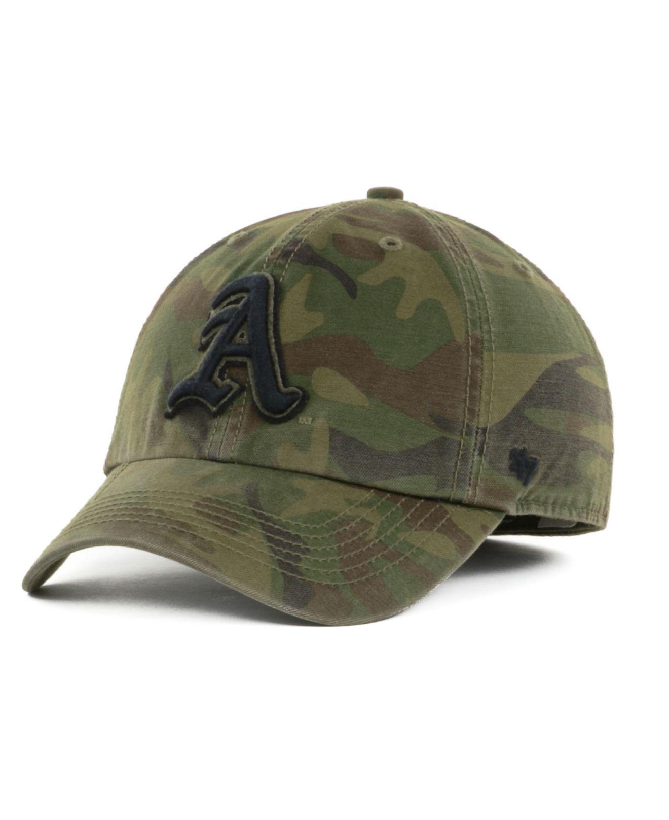 0d4fe7988836b ... 50% off lyst 47 brand arkansas razorbacks movement franchise cap in  green 1334c 6a141
