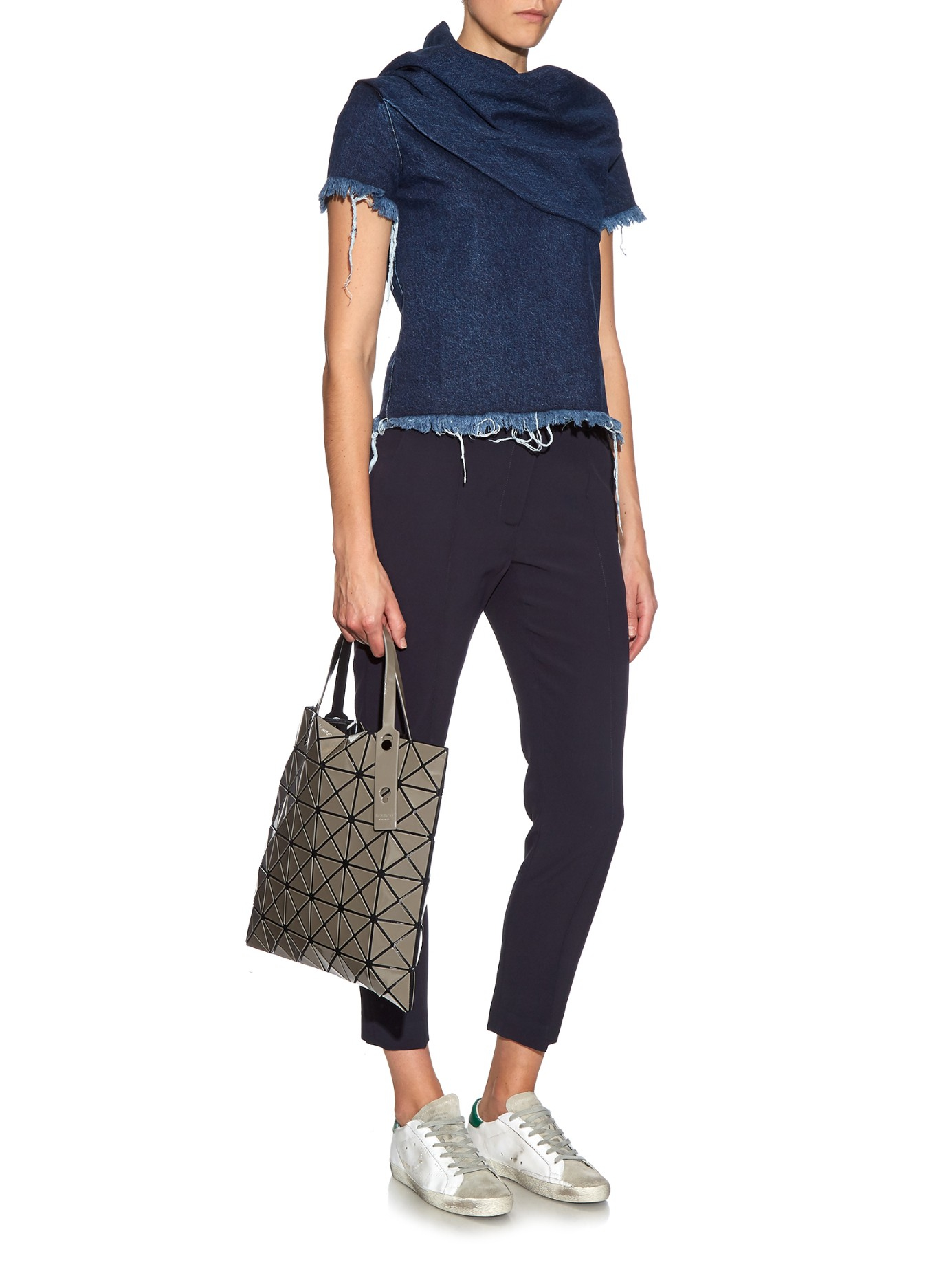 300dcd4202c Lyst - Bao Bao Issey Miyake Lucent Basic Tote in Gray