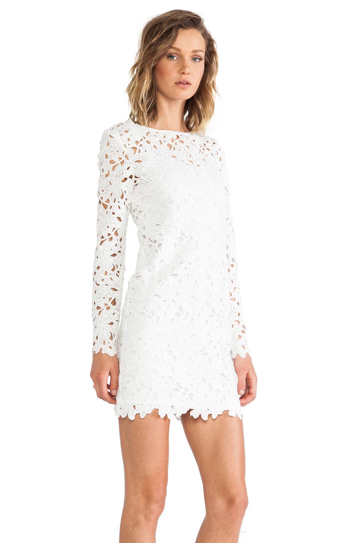 Lyst Keepsake Reach For The Sun Long Sleeve Dress In White