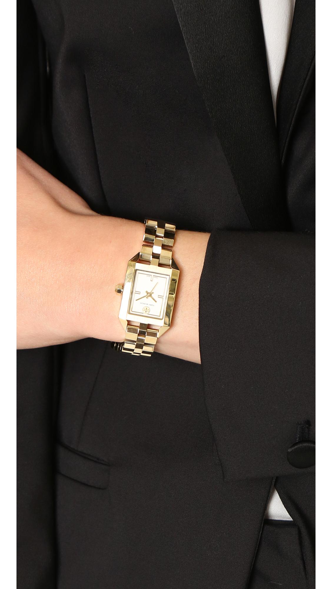 ff81d18bf59 Tory Burch Dalloway Watch in Metallic - Lyst