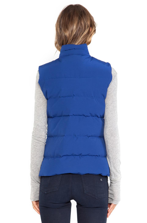 Canada Goose Women Freestyle Vest Blue