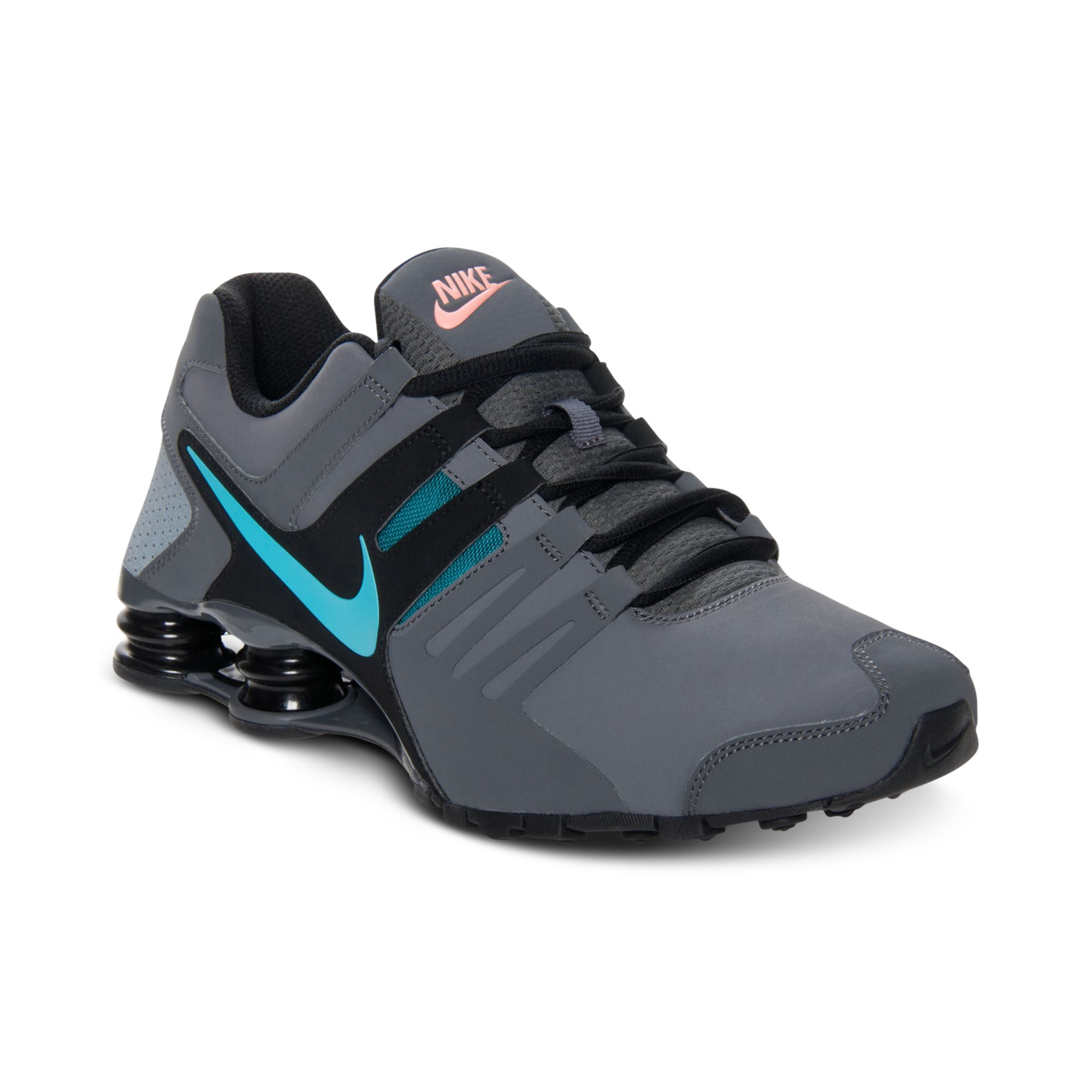 Buy Nike Gray Mens Shox Current Running Sneakers From Finish Line
