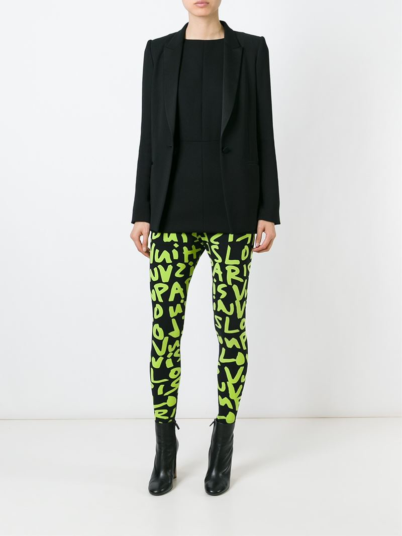 Louis Vuitton Stephen Sprouse Graffiti Leggings In Black Lyst
