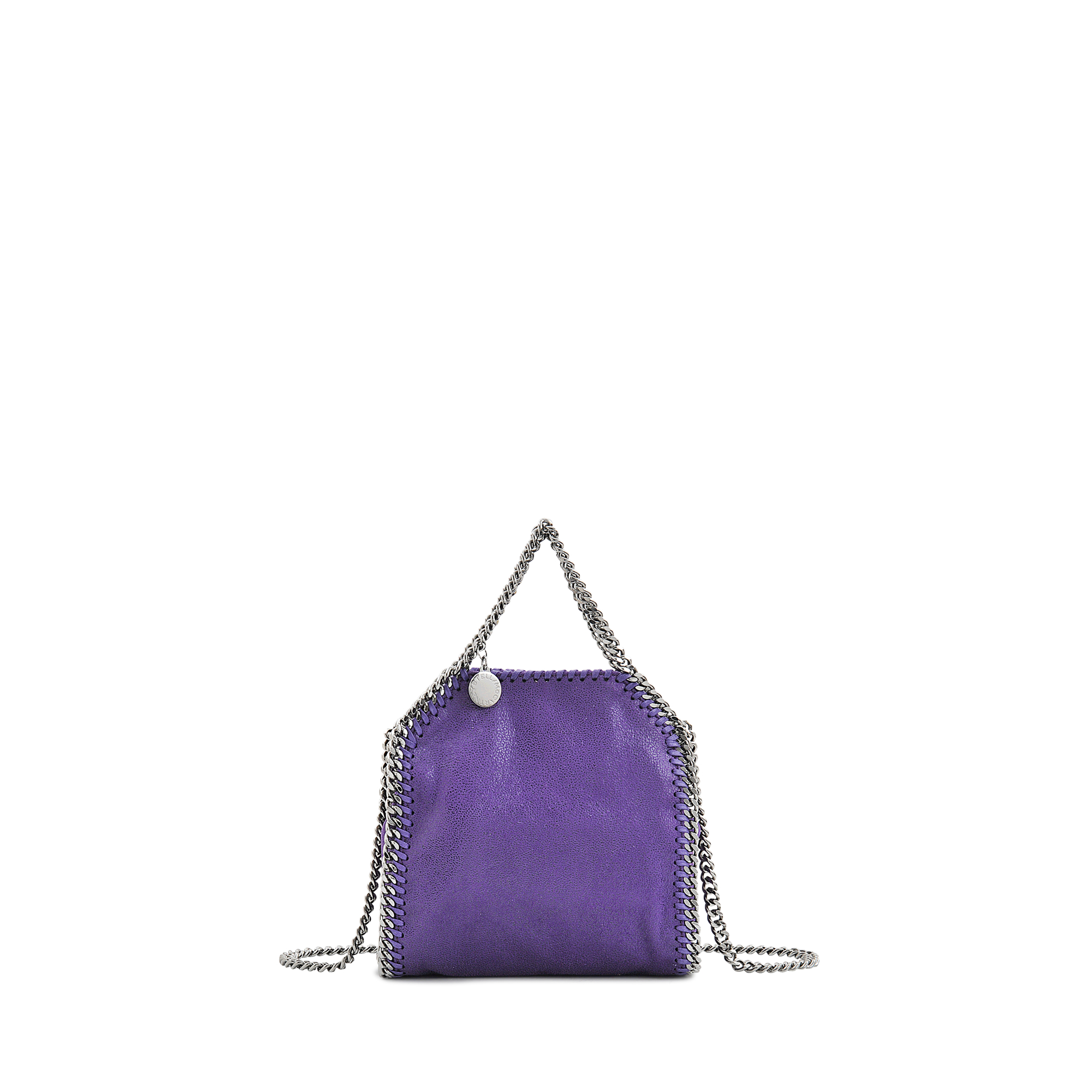 b5142c75767b Lyst - Stella McCartney Tiny Falabella Shaggy Deer Bag in Purple