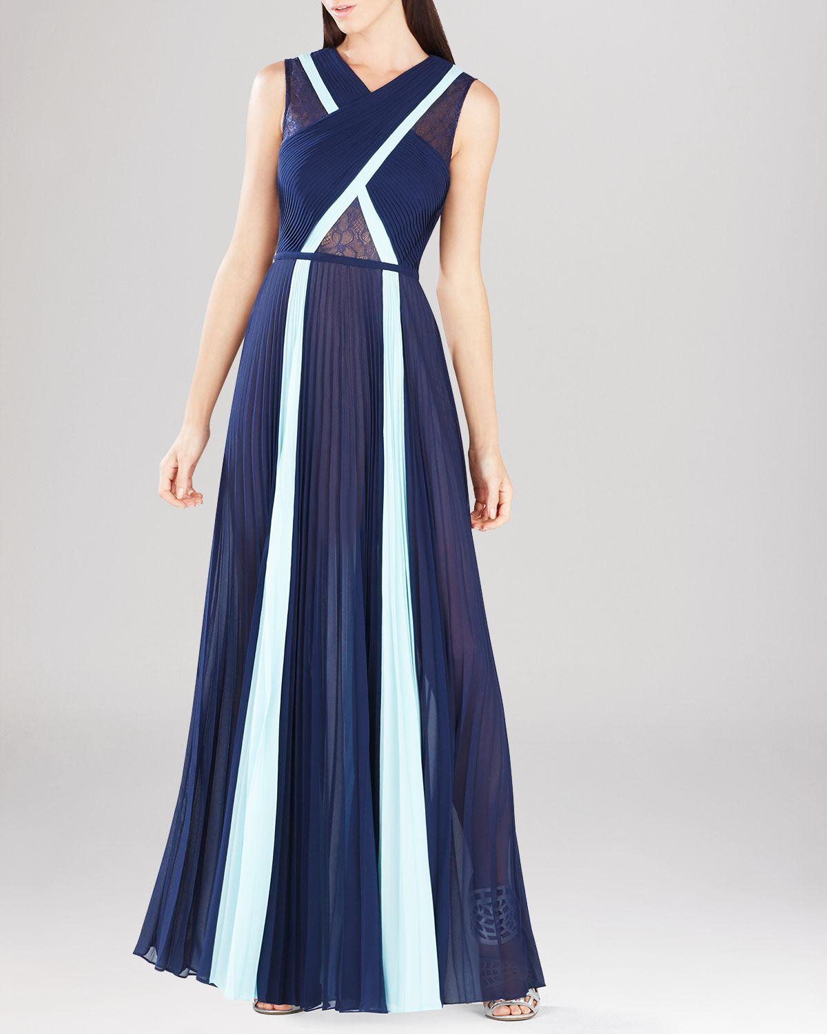 1f43166dc14b Bcbg Navy Blue Gown - Best Picture Of Blue Imageve.Org