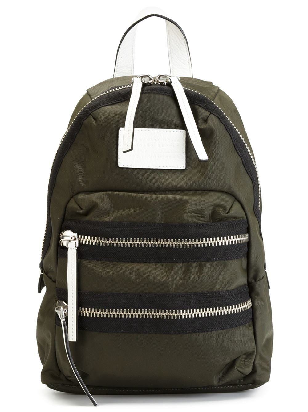 marc by marc jacobs 39 domo arigato packrat 39 backpack in green lyst. Black Bedroom Furniture Sets. Home Design Ideas