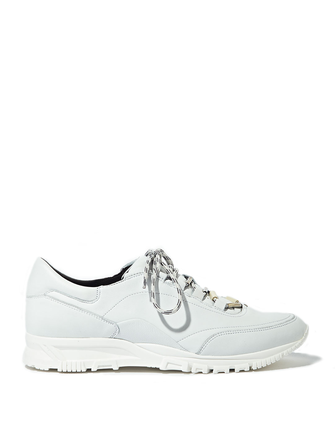 93c3a3e744a Lanvin Mens Smooth Calfskin Running Shoes in White for Men - Lyst