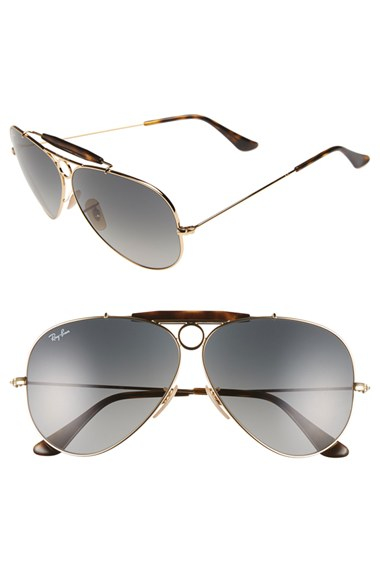 ray ban aviator polarized men 62mm