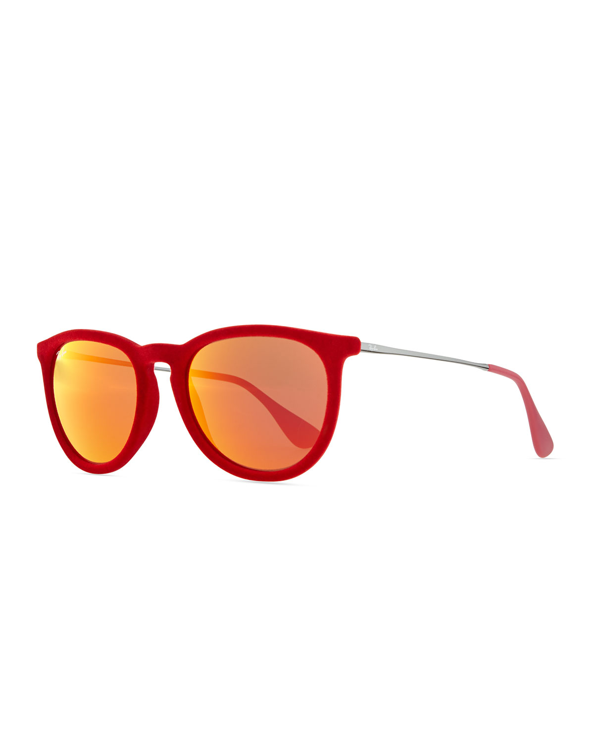 ray ban erika sunglasses red  gallery