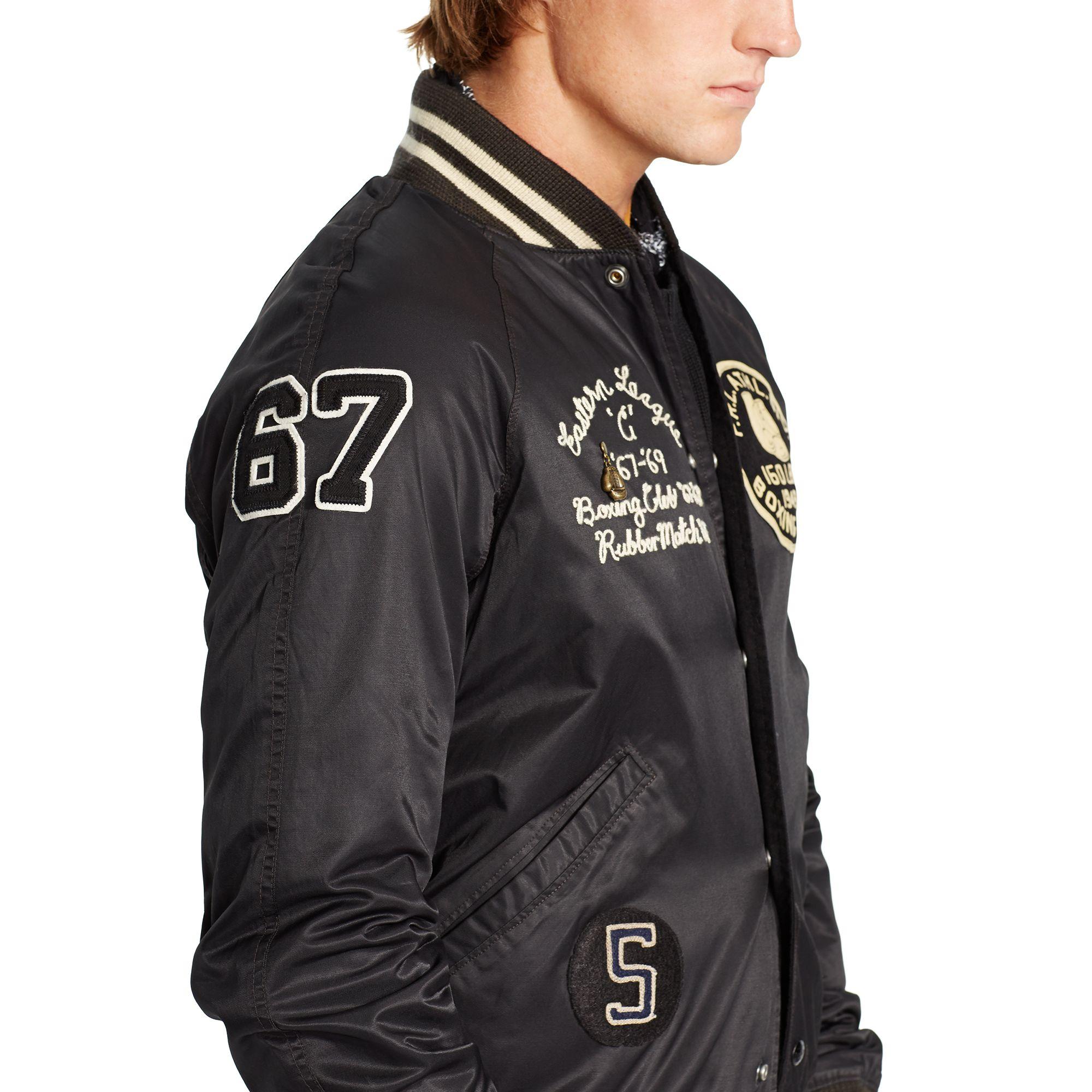 Polo Ralph Lauren Reversible Jacket In Black For Men Lyst