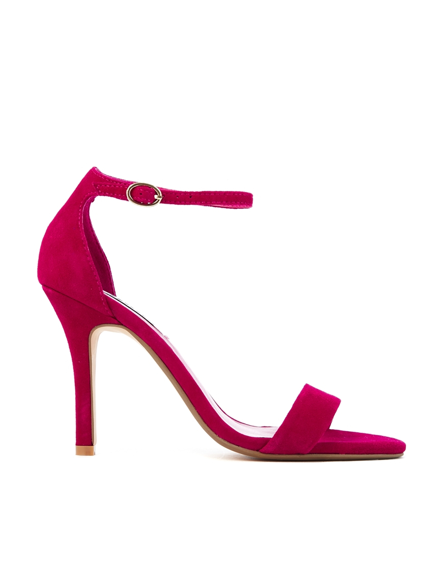 Dune Hydro Fuschia Barley There Heeled Sandals in Pink | Lyst